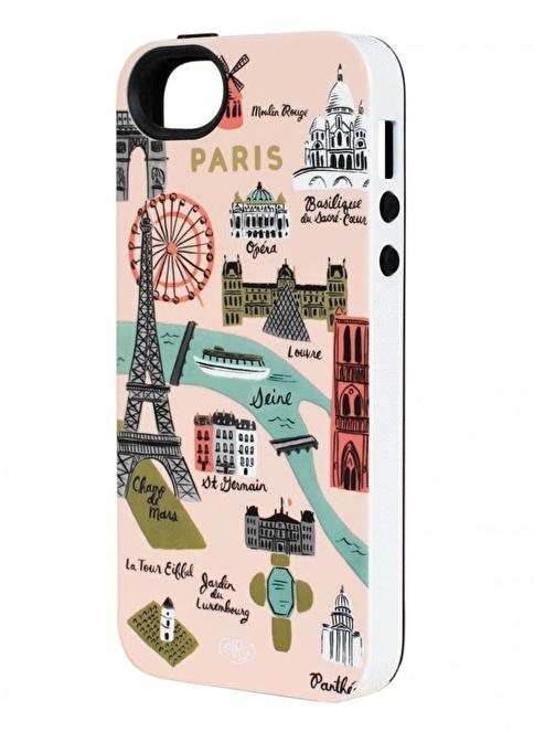 Rifle Paper Co. Paris Map iPhone 5/5S Kılıf Renkli